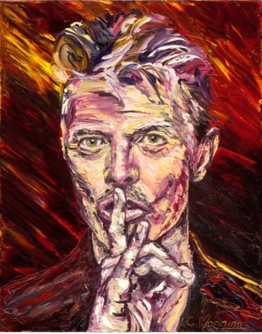 'David Bowie 'China Girl'' by Cathal Manning - Green Gallery