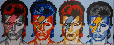 'Ziggy x4' by Brendan Higgins - Green Gallery