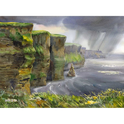View of Cliffs of Moher - Green Gallery