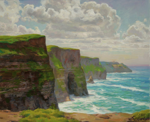 The Cliffs of Moher - Green Gallery