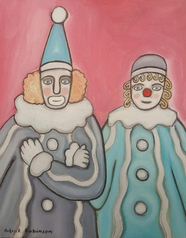 Clown Twosome - Green Gallery