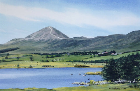 Croach Patrick. Co Mayo by Peter Knuttel - Green Gallery