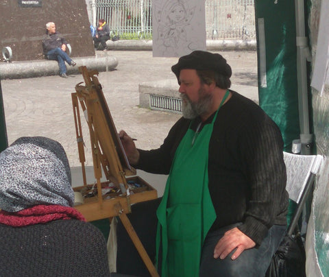 Dan Young caricature artist - Green Gallery