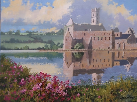 Repose Timoleague Abbey Cork by John F. Skelton - Green Gallery