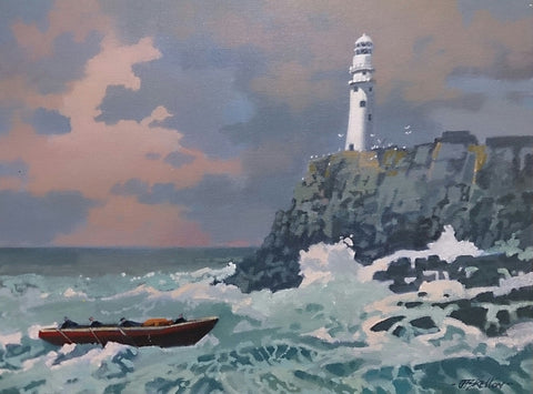 Yield. Fastnet Rock. Cork by John F. Skelton - Green Gallery