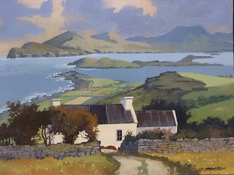 Valentia Freeway Co Kerry by John F. Skelton - Green Gallery