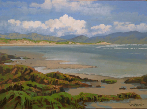 Open Inch Strand Kerry by John F. Skelton - Green Gallery