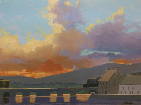 Light Fall Carrick On Suir Tipperary by John F. Skelton - Green Gallery