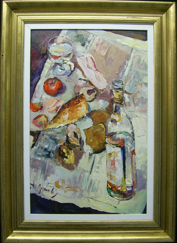 Russian Still Life by Andriy Ozernyy