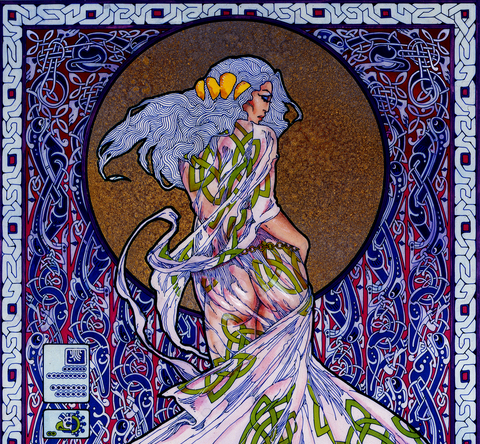 Emer, Wife Of CúChulainn by Jim FitzPatrick