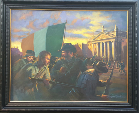 'Freedom Fighters' by Norman Teeling - Green Gallery