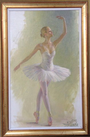 White Tutu - Green Gallery