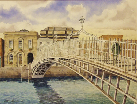 Ha'penny Bridge - Green Gallery