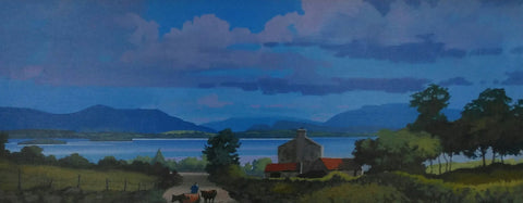 Tranquil Moments. Lough Corrib, Co. Galway - Green Gallery