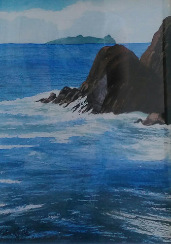 Doom Point, Inishtooskert. Dingle, Co. Kerry - Green Gallery