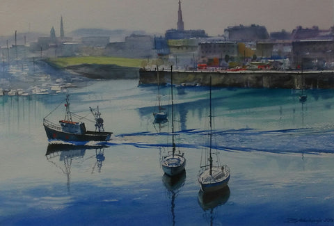 Dun Laoghaire Harbour - Green Gallery