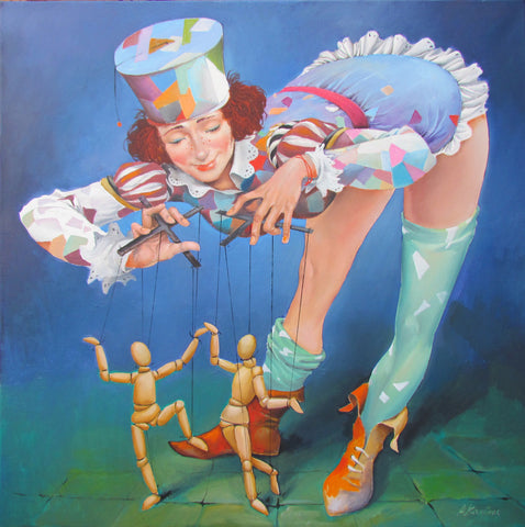 My Beautiful Puppeteer by Andrius Kovelinas - Green Gallery