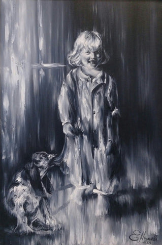 'Puppy And Me' - Green Gallery