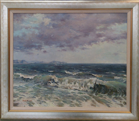 Crashing Waves. Belmullet by Andriy Ozernyy
