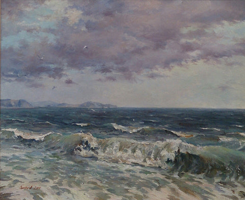 Crashing Waves. Belmullet by Andriy Ozernyy - Green Gallery