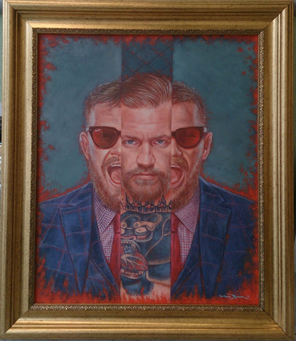 Conor McGregor by Mark Baker - Green Gallery