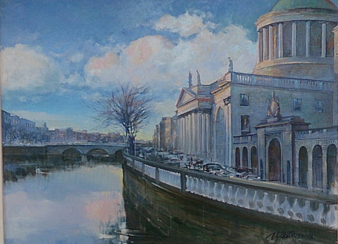 Four Courts Winter Light