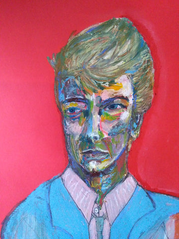 'Bowie' by Karen Hickey - Green Gallery