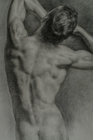 Male Nude 2 by Serguei Zlenko
