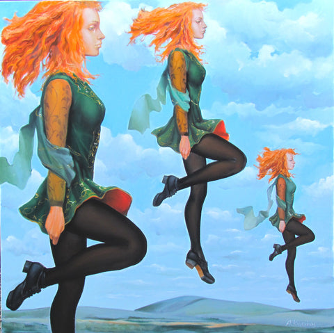 'Sky Dance' - Green Gallery