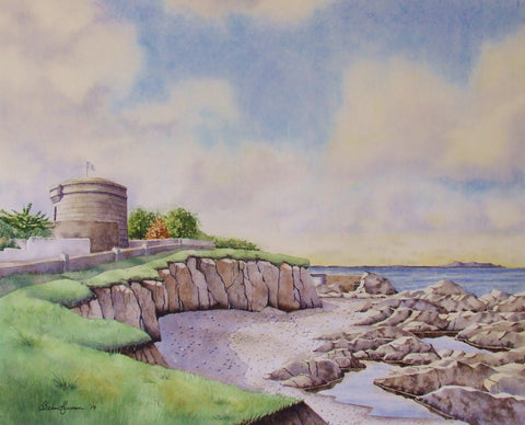 James Joyce Tower. Sandycove. Dublin - Green Gallery