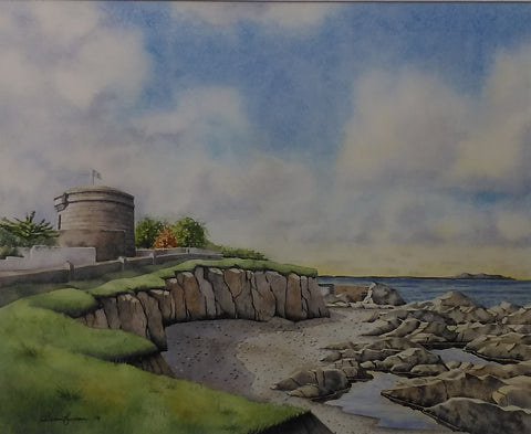 Joyce's Tower, Sandycove - Green Gallery