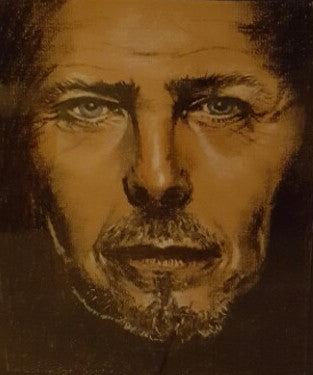 'David Bowie' by June Lanigan - Green Gallery