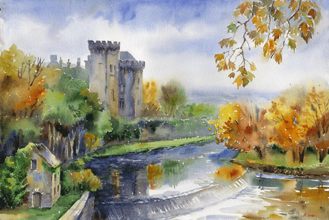 Kilkenny Castle & River - Green Gallery