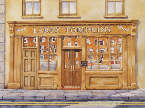 'Larry Tompkins Pub' by Sean Curran - Green Gallery