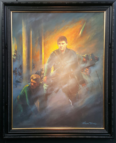 'Michael Collins In The GPO' by Norman Teeling - Green Gallery