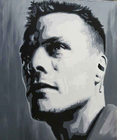 'Larry Mullen Jr' by Brendan Higgins - Green Gallery