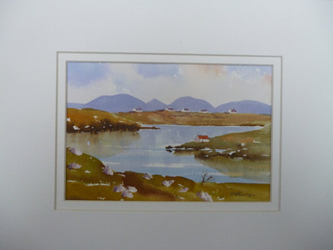 Connemara Evening - Green Gallery