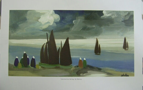 'Summer Time Sailing' by Markey Robinson - Green Gallery