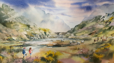 Going Fishing. Gap Of Dunloe. Kerry Ireland - Green Gallery