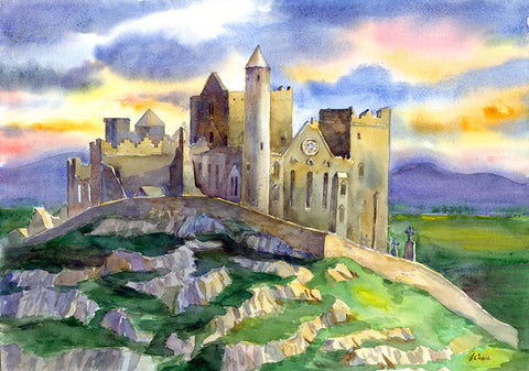 Rock of Cashel Sunset