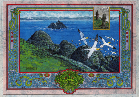 Skellig Michael - Green Gallery