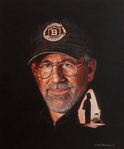 Steven Spielberg by Mark Baker - Green Gallery