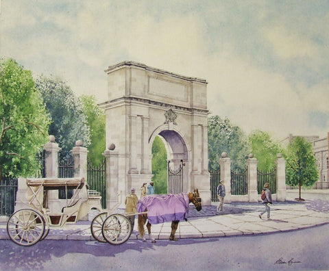 St. Stephen's Green Gate - Green Gallery