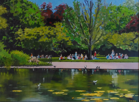 Stephen's Green in Summer - Green Gallery