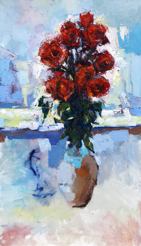 'Abstract Roses in the Daylight'.