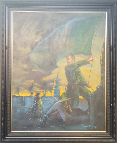 'Raising Of The Irish Republican Flag' by Norman Teeling - Green Gallery