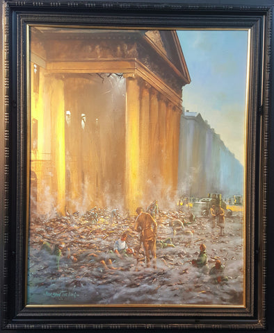 'The Siege Is Ended' by Norman Teeling - Green Gallery