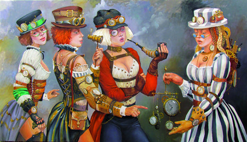 'The Time Seller' by Andrius Kovelinas - Green Gallery