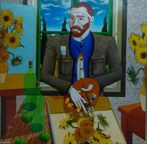 Vincent In Arles - Green Gallery