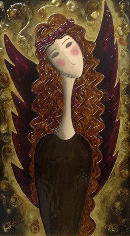 Wine Angel by Giuliana Gardelliano - Green Gallery